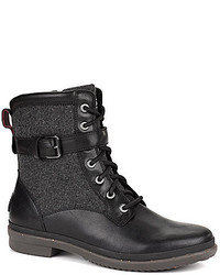 UGG Kesey Cold Weather Leather And Textile Boots