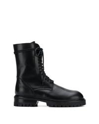Ann Demeulemeester Lace Up Combat Boots