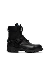 Prada Lace Up Combat Boots