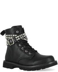 Gotta Flurt Lani Studded Combat Boots