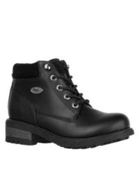 Lugz Sophia Black Lace Up Ankle Boots