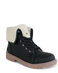 Olivia Miller Fulton Foldover Combat Boots