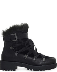 Nine West Orynne Leather Ankle Boots