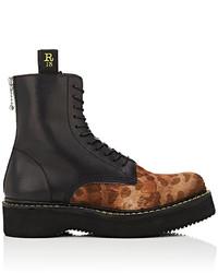 R 13 R13 Platform Ankle Boots