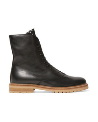 Gabriela Hearst Ruben Leather Combat Boots