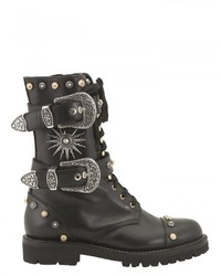 Fausto Puglisi Studded Combat Boots