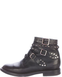 Saint Laurent Studded Ranger Ankle Boots
