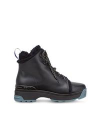 Fendi T Rex Lace Up Ankle Boots