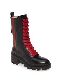 Gucci Trip Combat Boot