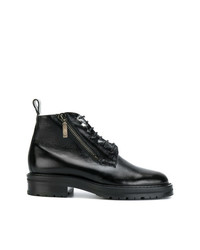 Saint Laurent William Shearling Lined Boots