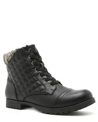 Qupid Wyatte Quilted Combat Boots