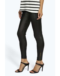 1abd5c847262 Women's Leather Leggings by Boohoo | Women's Fashion | Lookastic.com