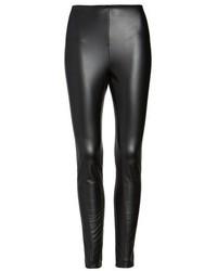Lysse Bryce High Waist Faux Leather Leggings