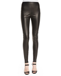 Collection eleanora leather leggings black medium 841021
