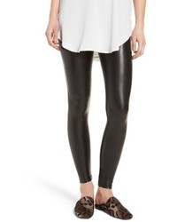 David Lerner Elliot High Waist Faux Leather Leggings