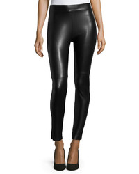Estella faux leather leggings black medium 347767