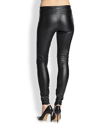 01acf51da83c4 David Lerner Faux Leather Leggings, $135 | Saks Fifth Avenue ...