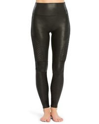 Faux leather moto leggings medium 6448649