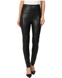 Lysse Faux Leather Shaping Legging Casual Pants