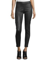 Fisher project leather leggings medium 840985