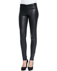 Frnt zip lthr legging medium 342348