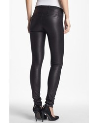 Lambskin Leather Leggings