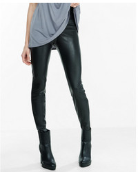 Express High Rise Leather Legging