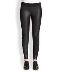 Stella McCartney Jersey Faux Leather Leggings