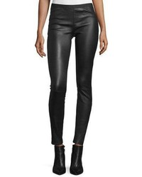 Leather ankle leggings medium 840996