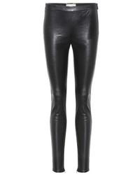 Saint Laurent Leather Leggings