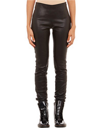 Maison Margiela Stretch Leather Leggings