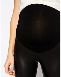 8c02237304ce6 Asos Maternity Leather Look Legging, $38 | Asos | Lookastic.com