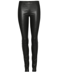The Row Moto Leather Leggings