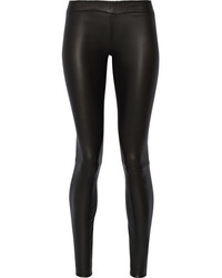34dfe7b6490ef0 The Row Orshen Ruched Leather Leggings Out of stock · The Row Moto Stretch Leather  Leggings Black