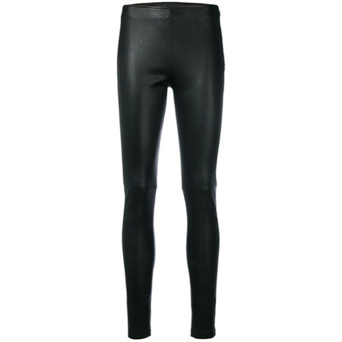 Manokhi Skinny Fit Biker Leggings