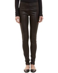 The Row Stretch Leather Leggings