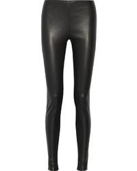 Balenciaga Stretch Leather Leggings