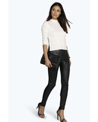 a24444d49268 Women's Leather Leggings from BooHoo | Women's Fashion | Lookastic.com
