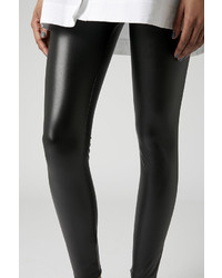 Topshop Textured Leather Look Leggings | Where to buy & how to wear