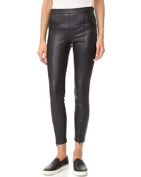 Vegan leather front zip leggings medium 840970