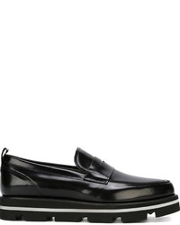 MSGM Almond Toe Penny Loafers