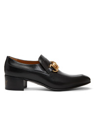 Gucci Black Ice Lolly Horsebit Loafers
