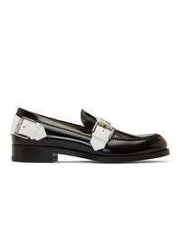 Christian Louboutin Black Monmoc Flat Loafers