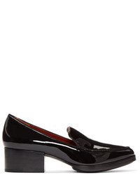 3.1 Phillip Lim Black Patent Quinn Loafers