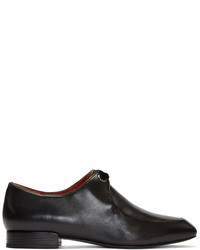 3.1 Phillip Lim Black Square Lace Up Loafers