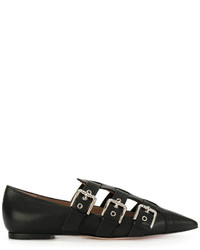 RED Valentino Buckle Strap Loafers