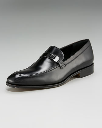 Salvatore Ferragamo Destin Leather Loafers
