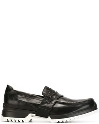 Diesel Zip Trim Loafers