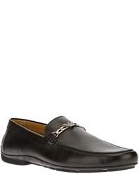 Emporio Armani Calf Leather Loafer
