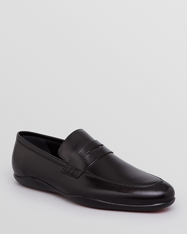 f404207e6bc ... Harry s of London Harrys Of London Downing Leather Penny Loafers ...